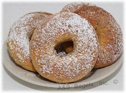 "FRENCH TOAST BAGEL<br>Pack Size:<span class=""custom-label-text"">5/12CT</span><br>Item Code:<span class=""custom-label-text"">AS11</span> Image"