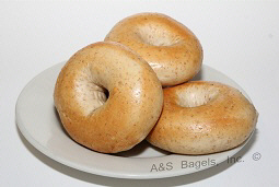 "WHOLE WHEAT BAGEL<br>Pack Size:<span class=""custom-label-text"">5/12CT</span><br>Item Code:<span class=""custom-label-text"">AS15</span> Image"