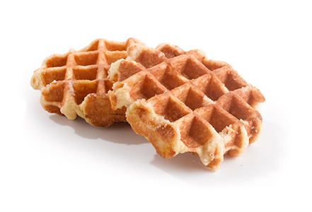 "IW BELGIAN WAFFLES<br>Pack Size:<span class=""custom-label-text"">60/3.17OZ</span><br>Item Code:<span class=""custom-label-text"">AV104</span> Image"