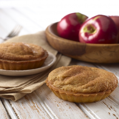 """APPLE TARTLET 4.4OZ<br>Pack Size:<span class=""""custom-label-text"""">6CT</span><br>Item Code:<span class=""""custom-label-text"""">BD76</span> Image"""