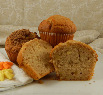 """APPLE CINNAMON MUFFIN BATTER<br>Pack Size:<span class=""""custom-label-text"""">75/6.25OZ</span><br>Item Code:<span class=""""custom-label-text"""">BJ89</span> Image"""