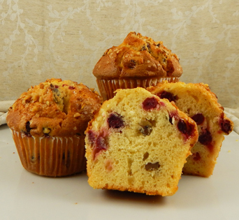 """CRANBERRY ORANGE NUT MUFFIN BATTER<br>Pack Size:<span class=""""custom-label-text"""">48/4.5OZ</span><br>Item Code:<span class=""""custom-label-text"""">BJ90</span> Image"""