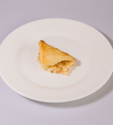 "MINI APPLE TURNOVER<br>Pack Size:<span class=""custom-label-text"">144CT</span><br>Item Code:<span class=""custom-label-text"">CA80</span> Image"
