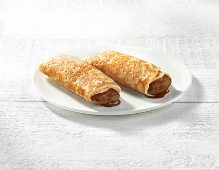 "CHOCOLATE FILL CREPES<br>Pack Size:<span class=""custom-label-text"">30/2.82OZ</span><br>Item Code:<span class=""custom-label-text"">CR40</span> Image"