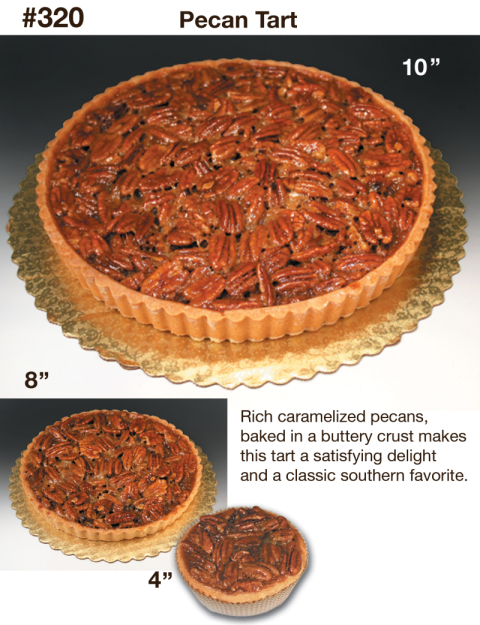 "PECAN TART 3 INCH<br>Pack Size:<span class=""custom-label-text"">1/12CT</span><br>Item Code:<span class=""custom-label-text"">ED105</span> Image"