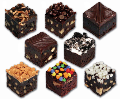 "ASSORTED BROWNIE BITES<br>Pack Size:<span class=""custom-label-text"">4/48CT</span><br>Item Code:<span class=""custom-label-text"">ED18</span> Image"