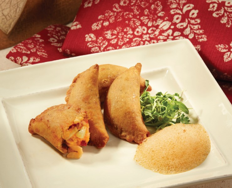 """LOBSTER EMPANADA<br>Pack Size:<span class=""""custom-label-text"""">100CT</span><br>Item Code:<span class=""""custom-label-text"""">KB100</span> Image"""