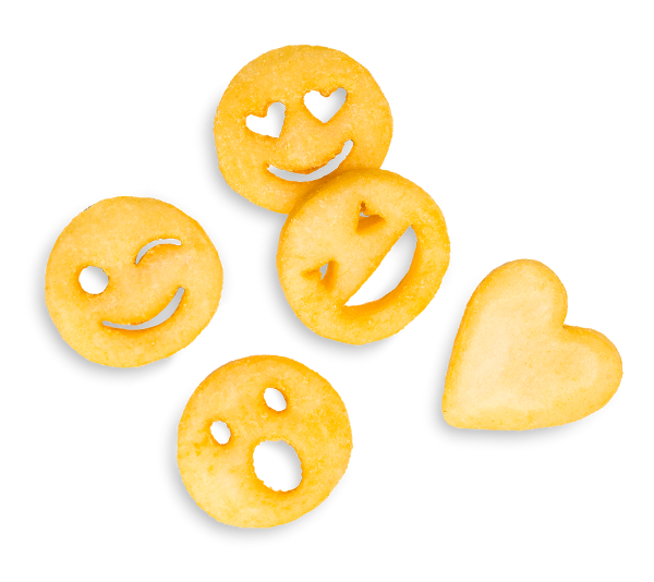 P349 - EMOTICON FRIES