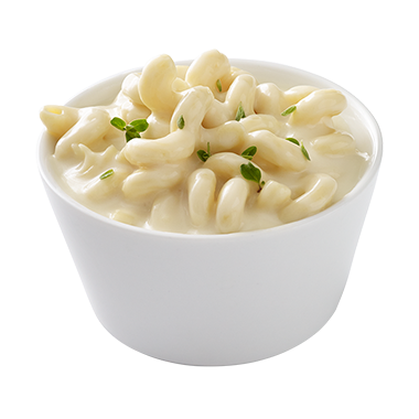 "WHITE CHEDDAR MACARONI & CHEESE<br>Pack Size:<span class=""custom-label-text"">4/64OZ</span><br>Item Code:<span class=""custom-label-text"">SF120</span> Image"