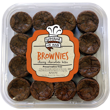 """BROWNIE BITES<br>Pack Size:<span class=""""custom-label-text"""">8CT 48PCS</span><br>Item Code:<span class=""""custom-label-text"""">SU62</span> Image"""