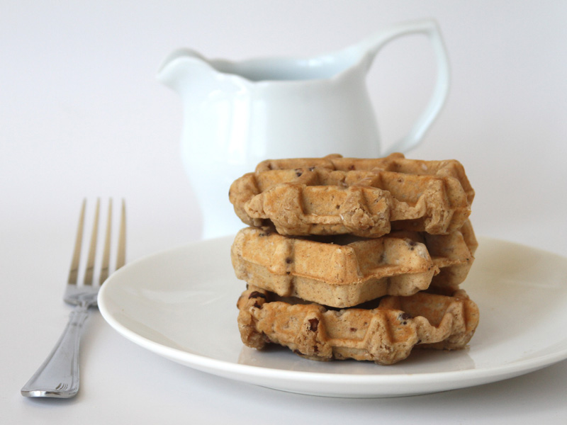 "CHOCOLATE CHIP WAFFLE<br>Pack Size:<span class=""custom-label-text"">48/2.5OZ</span><br>Item Code:<span class=""custom-label-text"">WF09</span> Image"